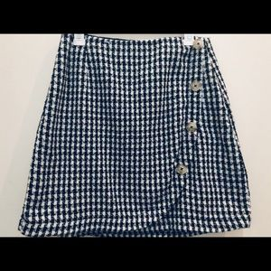 Anthropologie plaid skirt